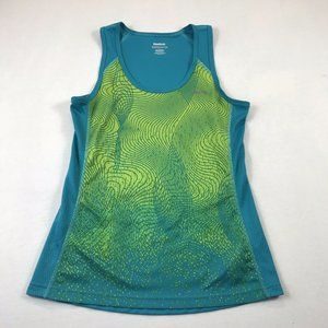 Reebok Tank Top Size XS Play Dry Abstract